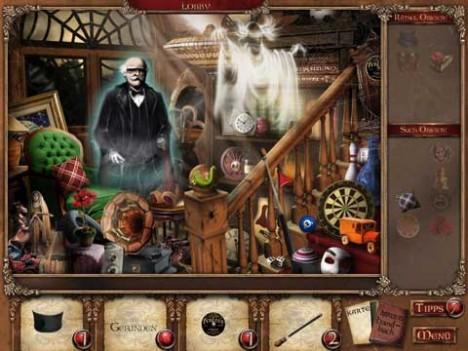 Mortimer Beckett, Geheimnisse einer Geistervilla
