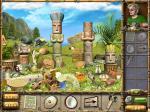 Schätze der geheimnisvollen Insel Lösung Puzzle mit Statuen