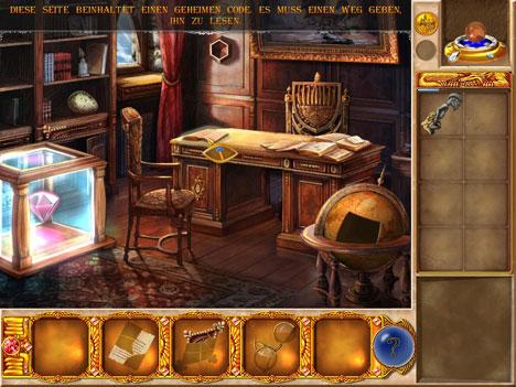 Zauberakademie: das Büro des Professors Fobros
