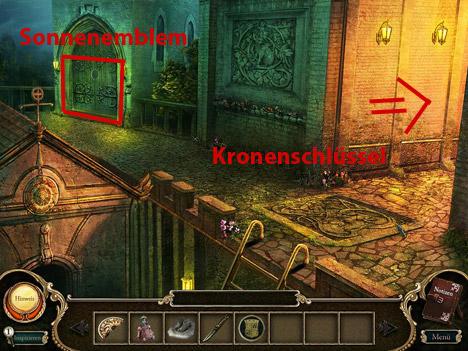 Lösungen zum Spiel Dornroeschens Fluch